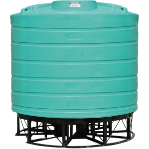 7000 Gallon 15 Deg Cone Bottom Tank (Includes Stand)