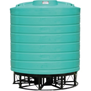 8000 Gallon 15 Deg Cone Bottom Tank (Includes Stand)