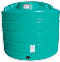 1650 Gallon Vertical Plastic Storage Tank