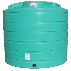 1750 Gallon Vertical Plastic Storage Tank