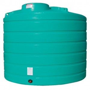 2000 Gallon Vertical Plastic Storage Tank