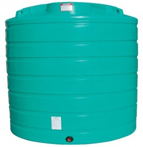 2100 Gallon Vertical Plastic Storage Tank