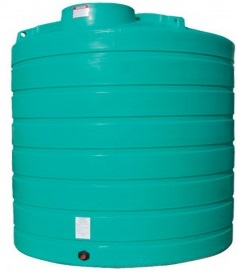 2500 Gallon Vertical Plastic Storage Tank