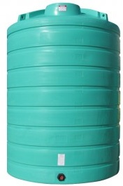 5500 Gallon Vertical Plastic Storage Tank