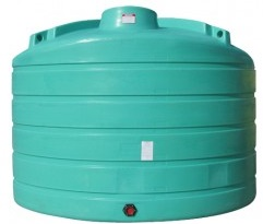 6011 Gallon Vertical Plastic Storage Tank