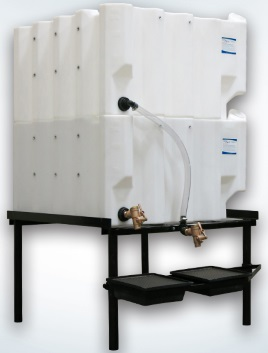 Fluidall T130 2 Stackable Tanks System