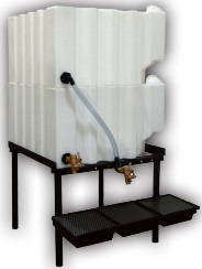 70 Gallon Tote-A-Lube / Fluidall Lube Oil Tank System (2 Tanks)