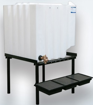 120 Gallon Tote-A-Lube / Fluidall Lube Oil Tank System (1 Tank)