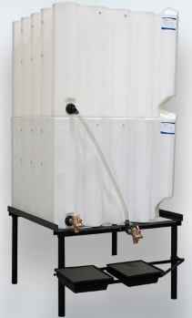 180 Gallon Tote-A-Lube / Fluidall Lube Oil Tank System (2 Tanks)