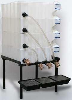 35 Gallon Tote-A-Lube Tank System (4 Tanks)