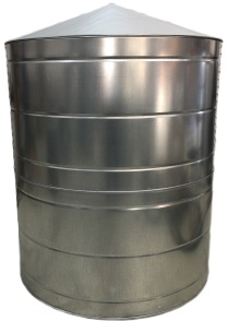 830 Gallon Galvanized Rain Water Tank