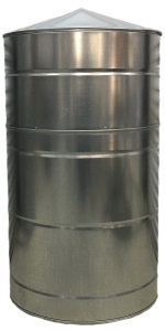 140 Gallon Galvanized Rain Water Tank