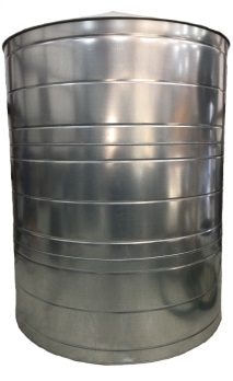 2500 Gallon Stainless Steel Rain Water Tank