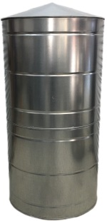 300 Gallon Stainless Steel Rain Water Tank