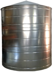 3200 Gallon Galvanized Rain Water Tank