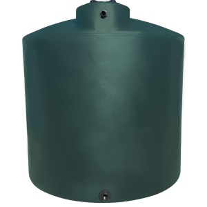2100 Gallon Norwesco Plastic Potable Water Storage Tank | (Oklahoma Black Tank Ships In 48 Hrs)