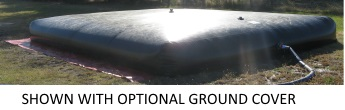 10000 Gallon Chemical Resistant Bladder Tank