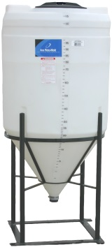 110 Gallon Cone Inductor Tank *Fully Draining*