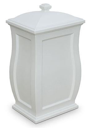 Mansfield Storage Bin - White