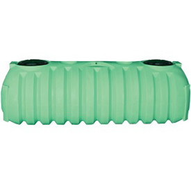 1500 Gallon 2 Compartment Plastic Septic Tank (Preplumbed)