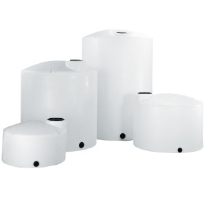 150 Gallon Vertical Plastic Storage Tank