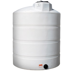 1500 Gallon Vertical Plastic Storage Tank N 40144 Norwesco