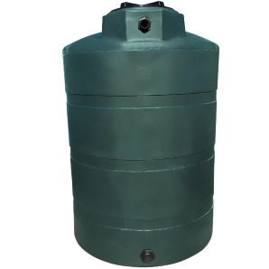 1000 Gallon Norwesco Plastic Potable Water Storage Tank  | (TX & CA Black Tanks Ships In 48 Hrs)