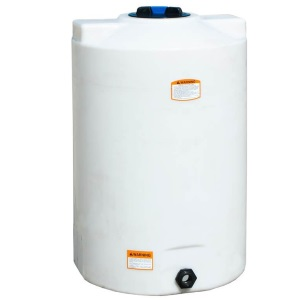 100 Gallon Vertical Plastic Storage Tank