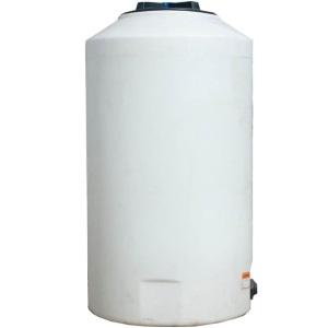 165 Gallon Vertical Plastic Storage Tank