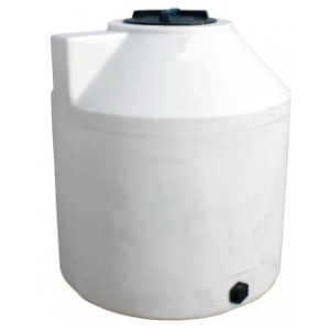 305 Gallon Vertical Plastic Storage Tank