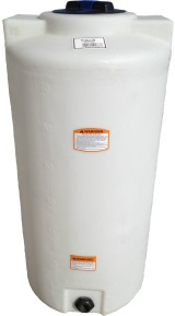 75 Gallon Vertical Plastic Storage Tank
