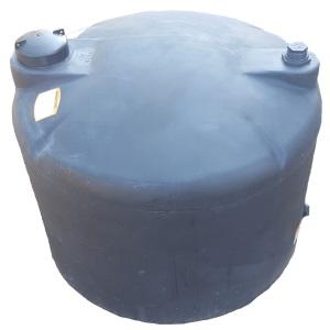 120 Gal Black Plastic Water Storage Tank