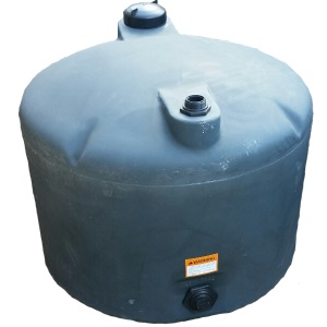 120 Gal Green Plastic Water Storage Tank