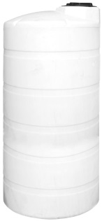 1250 Gallon Vertical Plastic Storage Tank
