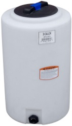 20 Gallon Vertical Plastic Storage Tank