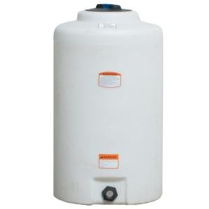 65 Gallon Vertical Plastic Storage Tank