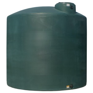 5000 Gallon Norwesco Plastic Potable Water Storage Tank | (CA,GA,TX Black & CA Green Ships In 48 Hrs)