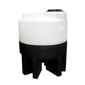 300 Gallon 30 Deg Cone Bottom Tank (PE Stand)