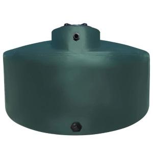 1550 Gal Green Plastic Water Storage Tank