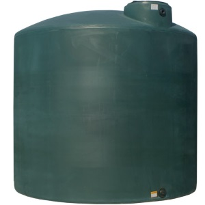 10000 Gallon Norwesco Plastic Potable Water Storage Tank | (Texas Black Tanks Ships In 48 Hrs)