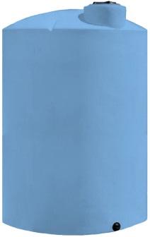 3600 Gallon Blue HD Vertical Plastic Storage Tank