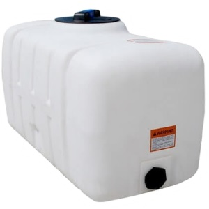 50 Gallon Flat Bottom Utility Tank