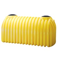 1500 Gallon Plastic Septic Tank - 2 Compartment