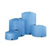 1000 Gallon Vertical Bulk Storage Tank - Lt Blue