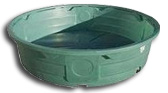 poly stock water troughs