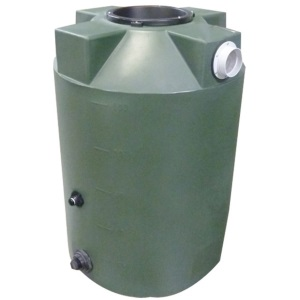 100 Gallon Bushman (Formerly Poly-Mart) Rain Harvesting Tank
