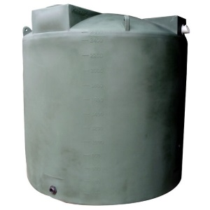 2500 Gallon Bushman (Formerly Poly-Mart) Rain Harvesting Tank