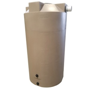 250 Gallon Bushman (Formerly Poly-Mart) Rain Harvesting Tank
