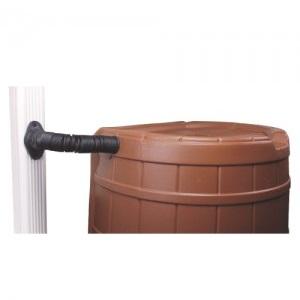 Poly-Mart Square Rain Barrel Downspout Diverter Kit
