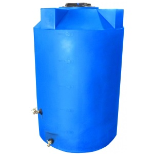 500 Gallon Emergency Water Storage Tank